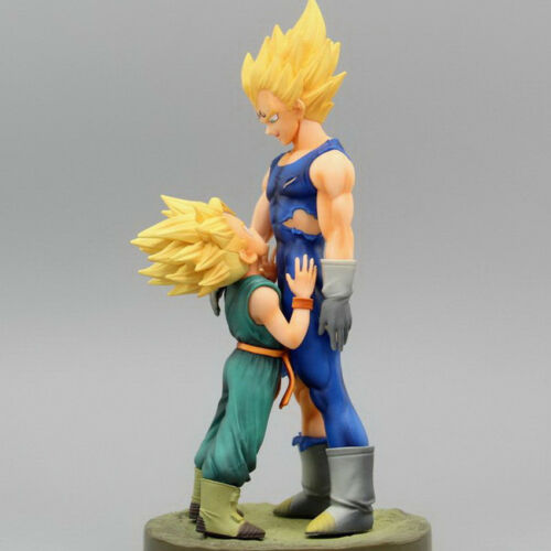 Dragon Ball Z Super Saiyan Vegeta and Trunks Action Figure Collectible Model Toy