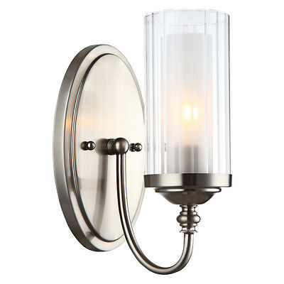 Lexington Series Satin Nickel 1 Light Wall and Bath Fixture #20-9304
