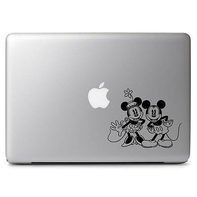Disney Retro Mickey Minnie Decal Sticker for Macbook Laptop Auto Car Window Wall