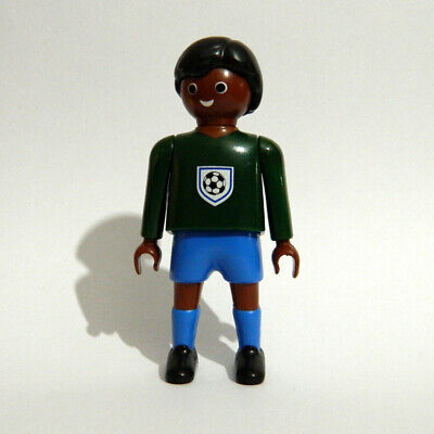 Playmobil   Ethnic Soccer Football Goalkeeper Player Figure - Without Base