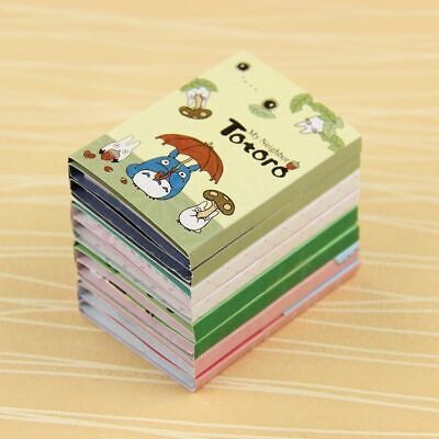 Kawaii Totoro Melody 6 Folding Memo Pad Sticky Notes Memo Notepad Stationery 1pc