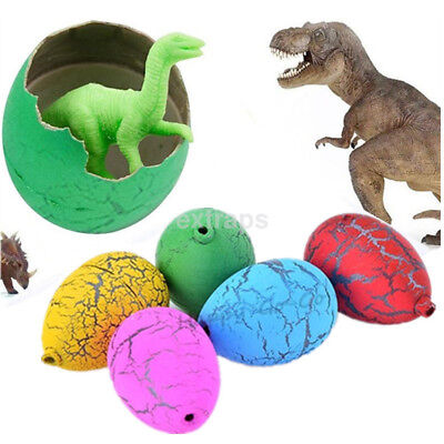 6 Pcs Kids Toys Magic Inflatable Hatching Dinosaur Add Water Growing Dino Eggs - Dino Egg