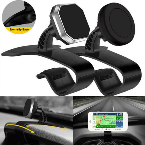 360°Rotate Strong Magnetic Car Dashboard Mount Magnet Holder For Phone Tablet 1X