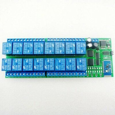 12v 16 Channel Android Bluetooth Relay Board Wireless Remote Control Swith