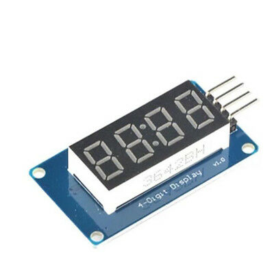 0.36 Inch 4 Bits 7 Segment Digital Tube Led Display Module W Clock For Arduino