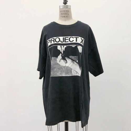 ⭕ 90s Vintage Project X shirt : punk hardcore straight edge youth of today spazz