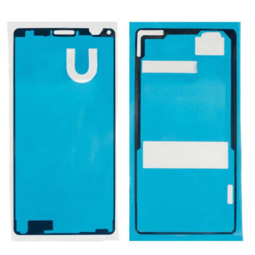 Set Front+Back Screen Sealed Adhesive Sticker Glue Tape For Sony Xperia Z1 Z2 Z3