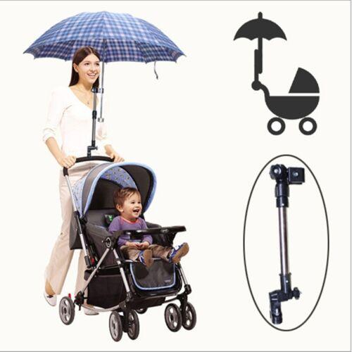 Universal Stroller Pram Baby Buggy Jogger Umbrella Holder Connector Rain-Proof L