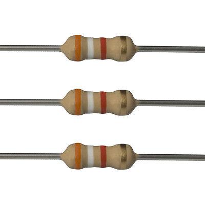 25 X 3.9k Ohm Carbon Film Resistors - 14 Watt - 5 - 3k9 - Fast Usa Shipping
