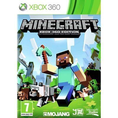 Brand New Sealed Minecraft  Microsoft Xbox 360 Edition Sealed