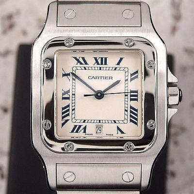 Mens Cartier Santos Watch Beautiful Man Cartier watch Cartier