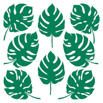 UFKLEBER Deko Sticker Wandtattoo Pflanze Karibik Möbel Dekor (Tropische Wand-dekor)