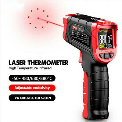 Infrared Ir Laser Industrial Thermometer Digital Temperature Gun Non-contact