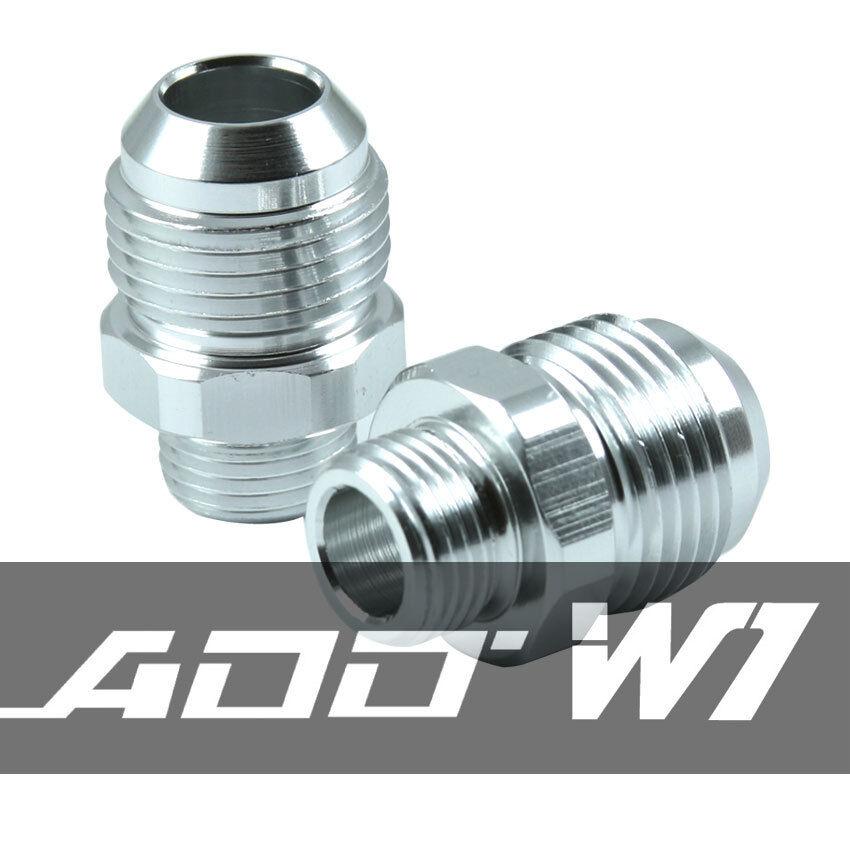 ADD W1 oil catch can Ver1 Ver2 AN-08 AN08 AN8 Fitting Silver