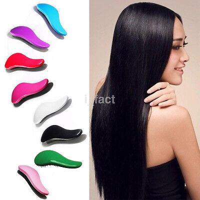 Cute Magic Handle Tangle Detangling Comb Shower Hair Brush Scalp Massage Tool US