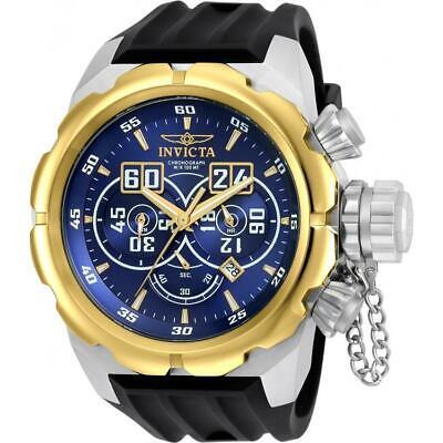 Invicta 21630 Russian Diver 52MM Men's Black Silicone Watch