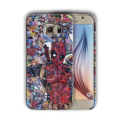 Super Hero Deadpool 2 Samsung Galaxy S4 5 6 7 8 9 10 E Edge Note Plus Case 1
