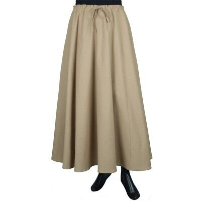 Medieval Ladies Skirt Renaissance Larp SCA Costume womens Cosplay Colonial - Medieval Ladies Costumes