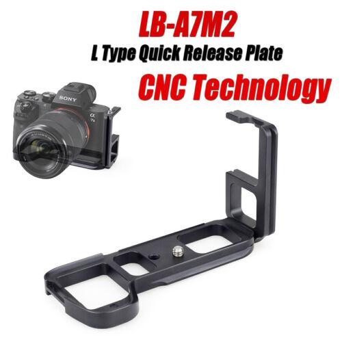 Vertical L Quick Release Plate QR Hand Bracket Grip Fr Sony A7m2 A7R2 A7II A7SII
