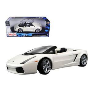 1 18 Scale Diecast Maisto Lamborghini Gallardo Spyder For Sale