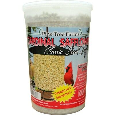 CARDINAL SAFFLOWER CLASSIC SEED LOG - 8008(Pack of 1)