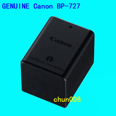 Genuine Original Canon BP727 Battery For Canon VIXIA HF R400 R500 R600 R60 R62 for sale  Shipping to Nigeria