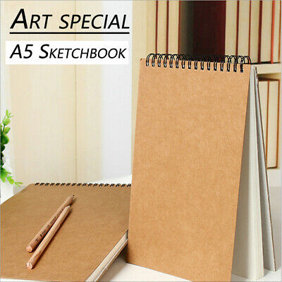 Paper Sketch Book Set A5 For Watercolor Drawing Art Sketchbook 30 Sheets Craft