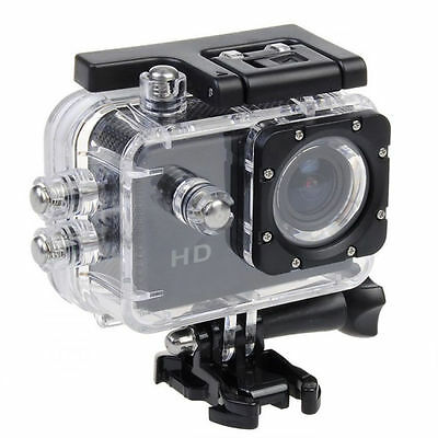 Action Sport Cam Camera Waterproof Video Helmetcam Bike Cam DVR A7 Mount