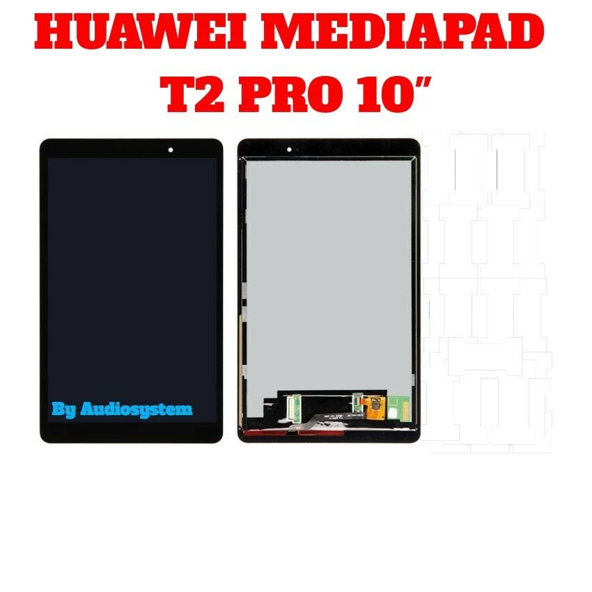 DISPLAY LCD+TOUCH SCREEN HUAWEI MediaPad T2 10.0 Pro FDR-A01L FDR-A01W A03 NERO