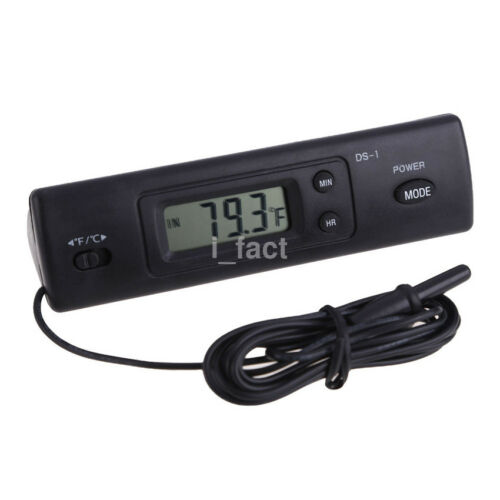 Handheld Digital LCD Screen Display Auto Car In-outdoor Thermometer Automotive