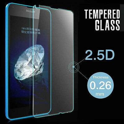 0.26mm Tempered Glass Screen Protector Film For Microsoft Nokia Lumia 640 LTE US