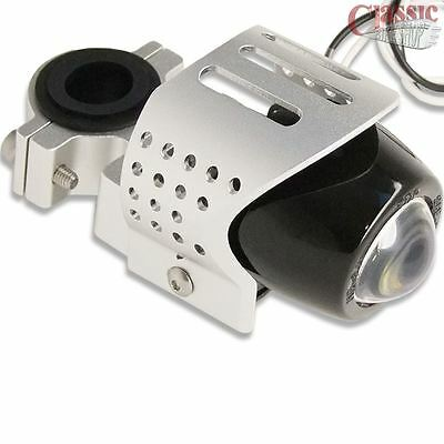 MOTORCYCLE FOG LIGHT CHROME ALUMINUM EMARK FOR HARLEY TRIUMPH DUCATI B