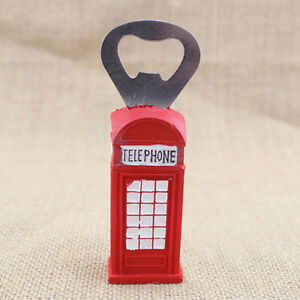 london red telephone booth bottle opener uk souvenir fridge magnet bottle opener ebay. Black Bedroom Furniture Sets. Home Design Ideas