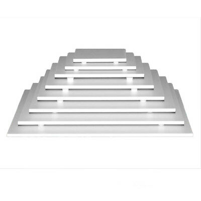 - Footed Display Cake Board, Square 7.8