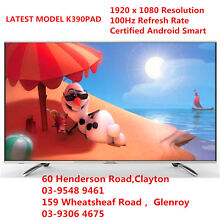 "HISENSE 55k390pad  55"" 3D SMART TV ANDROID TV 100HZ Clayton Monash Area Preview"