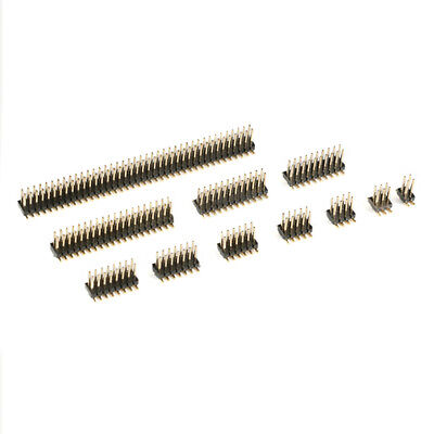 1.27mm Pitch 2x2 - 2x50 Pin Header Male Smdsmt Double Row Connector Pcb Solder