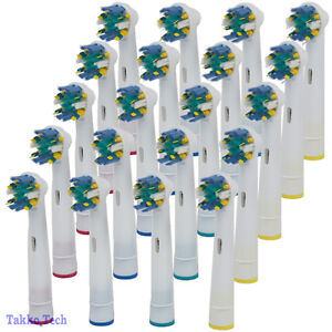 20-PCS-Electric-Tooth-brush-Heads-Replacement-for-Braun-Oral-B-FLOSS-ACTION-NEW