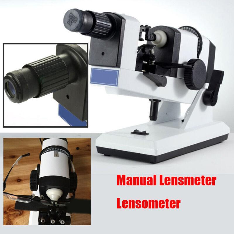 Portbale Manual Lensmeter Prism Optical Lensometer Focimeter Optometry Machine