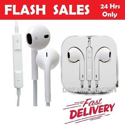 New Earphones Headphone For Apple iPhone 6s 6 5c 5 5S 5SE iPad Handsfree iPod