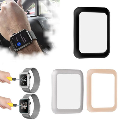 Fashion Full Tempered Glass Screen Protector For iPhone Watch iWatch 38mm & 42mm