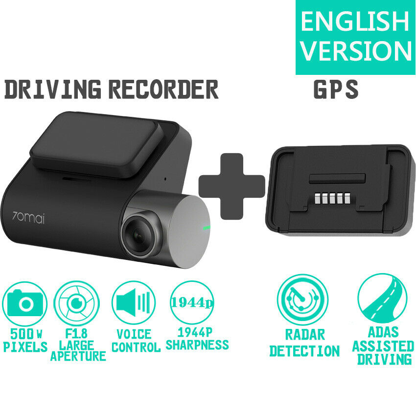 Global Version Xiaomi 70mai Smart Dash Cam Pro DVR Car Video