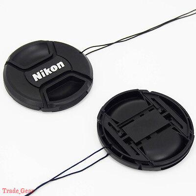 52mm Camera Snap-on Front Lens Cap cover For Nikon D40 D50 D60 D90 D3000 D5100
