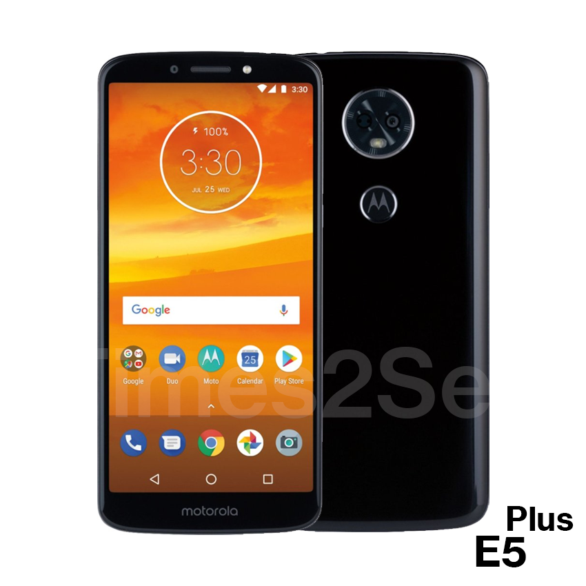"Android Phone - Motorola Moto E5 Plus 6.0"" HD 32GB 3GB RAM GSM Unlocked Android Black Phone New"