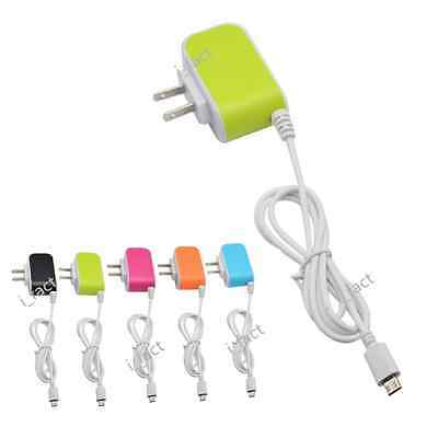 US 3.1A Triple USB Port LED Wall Charger Adapter+Micro USB Cable Universal Hot