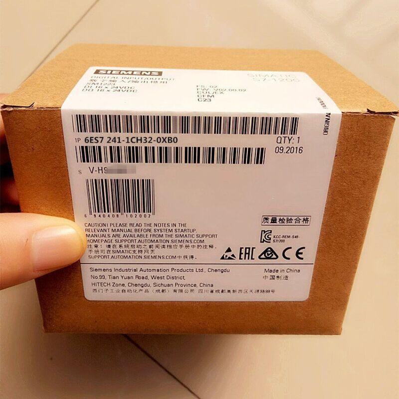 Siemens 1PC New PLC 6ES7 241-1CH32-0XB0 6ES7241-1CH32-0XB0 1 year warranty