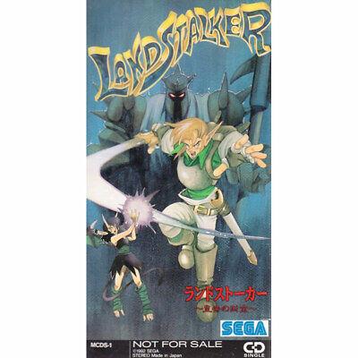 LANDSTALKER GAME SOUNDTRACK SINGLE CD 8cm MCDS-1 Japan SEGA 1992  RARE NFS ITEM online kaufen