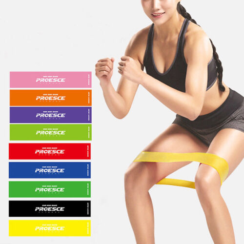 Elastic Tension Resistance Bands Yoga Bodybuilding Muscle Fitness Expander