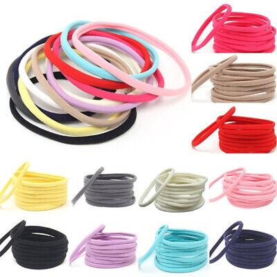 Wholesale 10pcs Baby Girls Kids Women Nylon Headbands Hairband Hair Accessories (Wholesale Childrens Accessories)