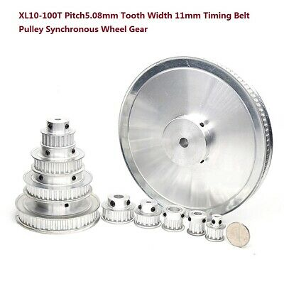 Xl10-100t Timing Belt Pulley Synchronous Wheel Gear Pitch5.08mm Tooth Width 11mm