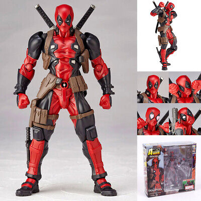 Amazing Marvel Revoltech Toy Gift DEADPOOL X-Men Action Figure
